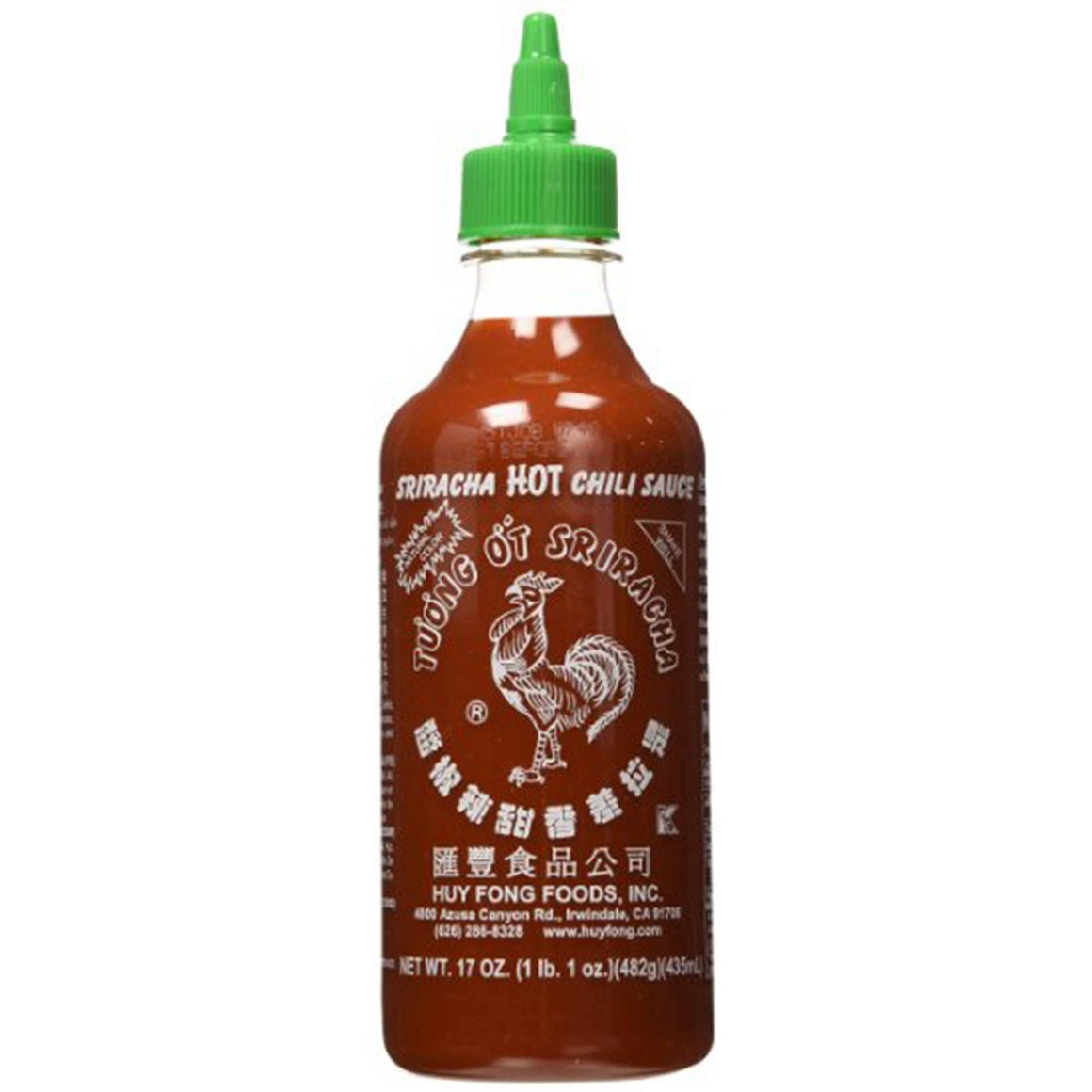 Food - Huy Fong Sriracha Hot Chili Sauce 17oz
