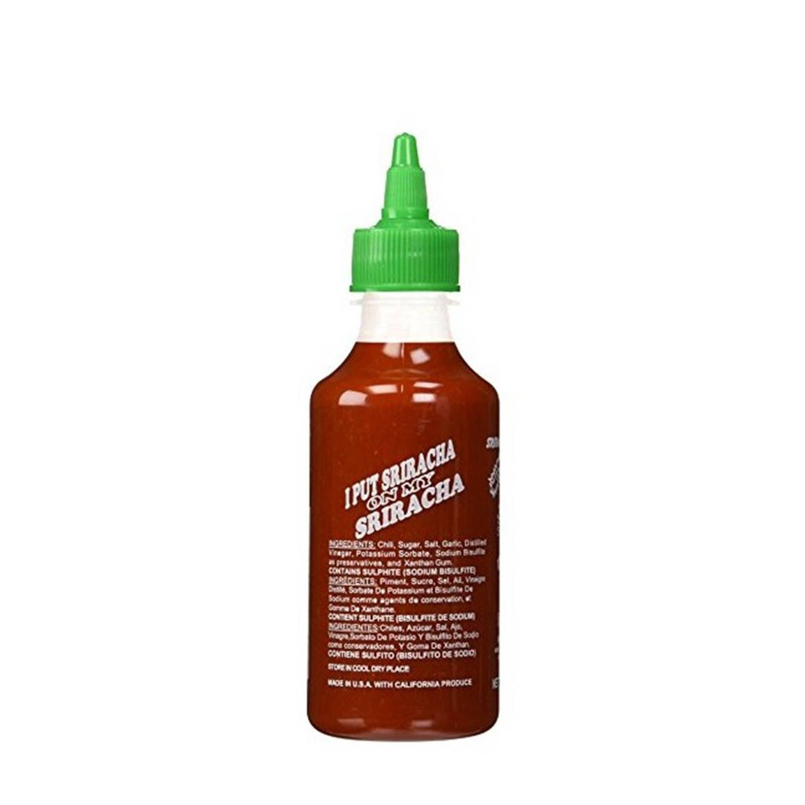 Food - Huy Fong Sriracha Hot Chili Sauce 9oz