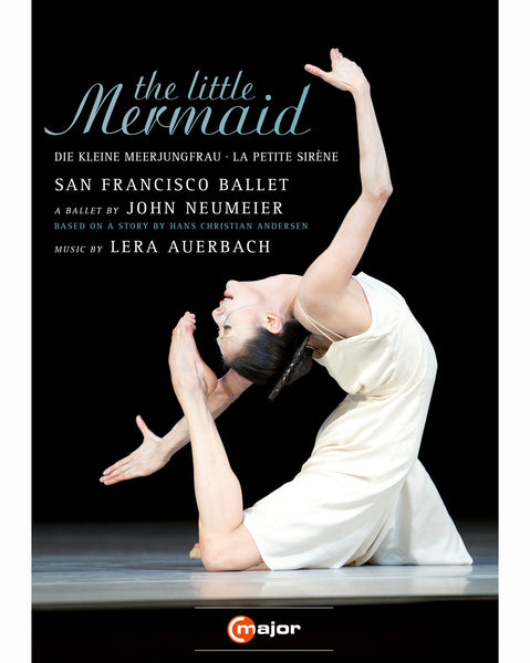 THE LITTLE MERMAID DVD  performed by San Francisco Ballet