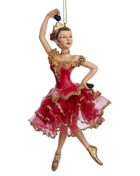 Nutcracker Spanish Dancer Ornament