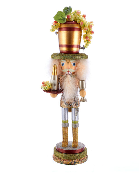 "19.5"" Wine Hat Nutcracker"
