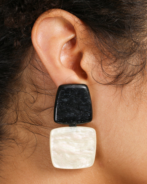 MODERN CLIP EARRINGS