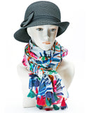 FABULOUS COTTON SCARF WITH TASSELS