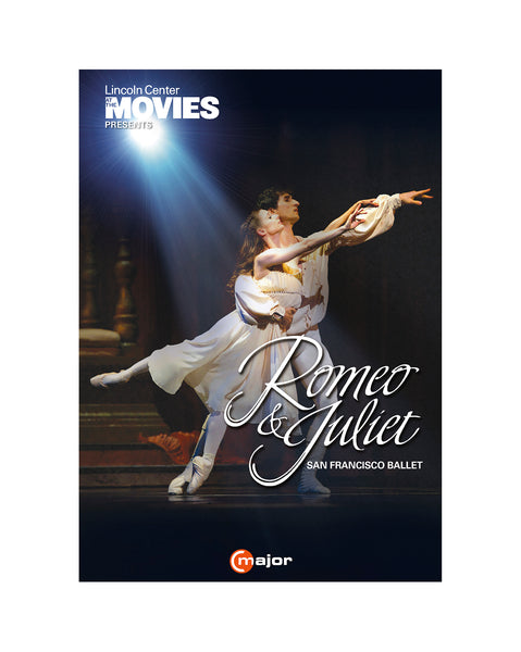 ROMEO & JULIET DVD performed by San Francisco Ballet