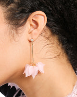 LIGHTWEIGHT DROP PETAL EARRINGS
