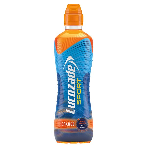 Lucozade Sport Orange 500ml, Case of 12