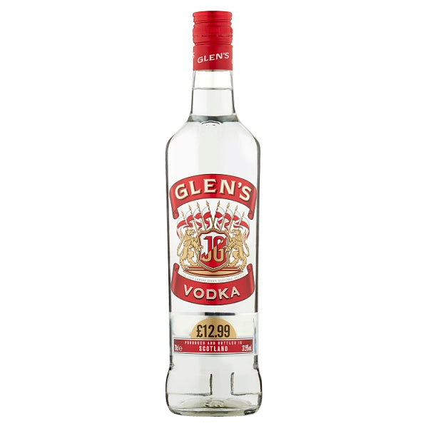 Glen's Vodka 70cl, Case of 6