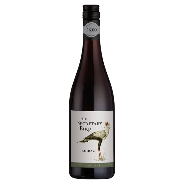 The Secretary Bird Shiraz 750ml, Case of 6