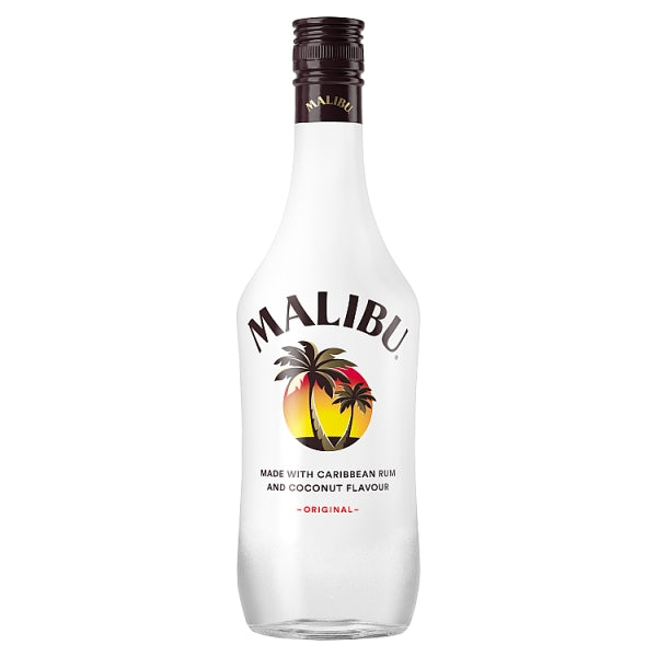 Malibu Original White Rum with Coconut Flavour 70cl, Case of 6