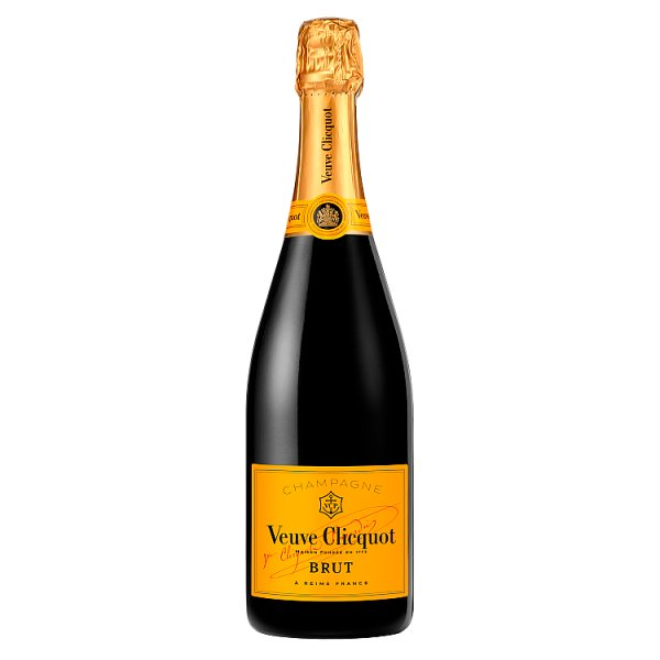 Veuve Clicquot Yellow Label Brut Champagne 75cl, Case of 6