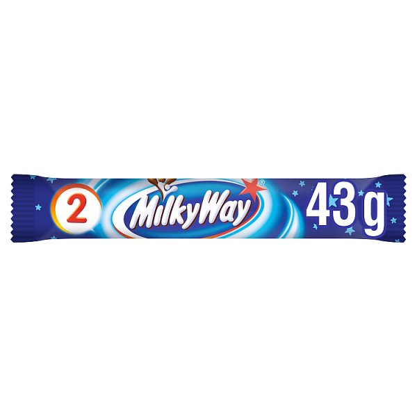 Milky Way Chocolate Duo Bar 43g, Case of 28