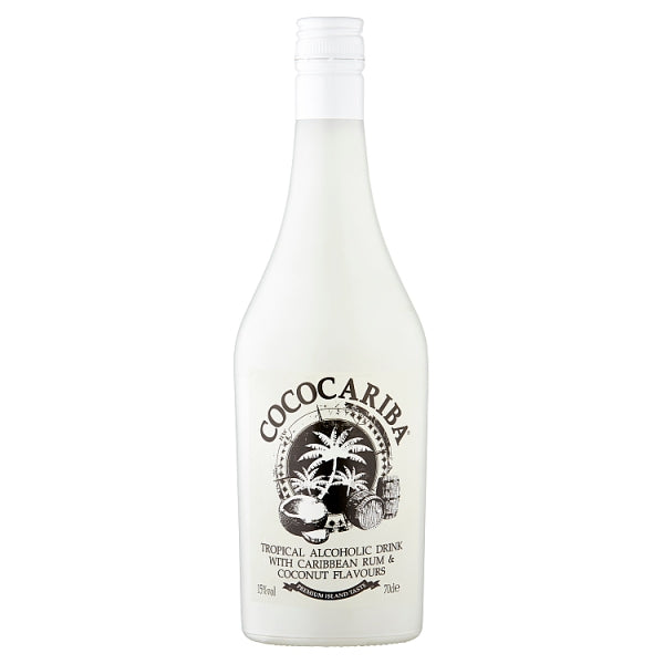 Tropical Alcoholic Drink with Caribbean Rum & Coconut Flavours 70cl, Case of 6