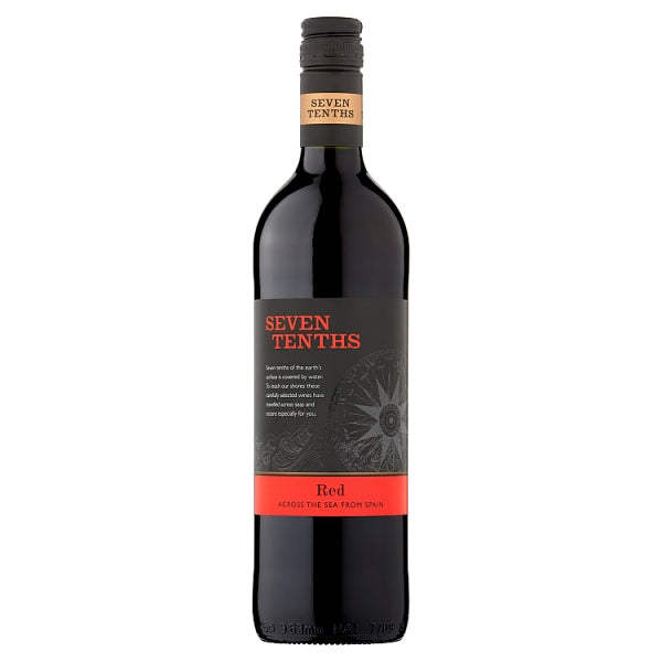 Seven Tenths Red 75cl, Case of 6