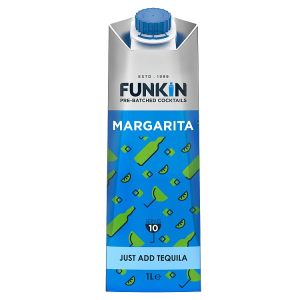 Funkin Margarita Pre-Batch Cocktails 1L