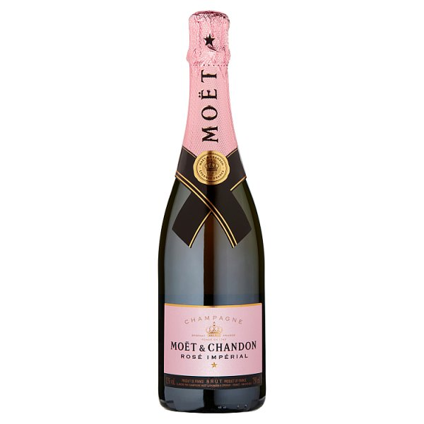 Moët & Chandon Rose Imperial 75cl Champagne Gift Box, Case of 6