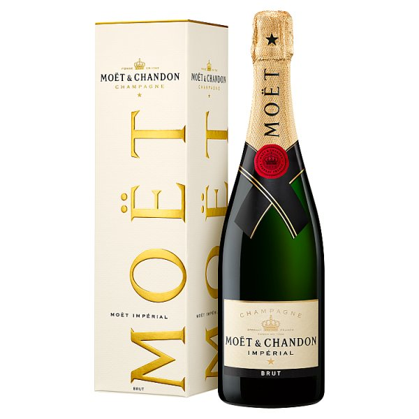 Moët & Chandon Imperial Brut Champagne 75cl (Gift Boxed)