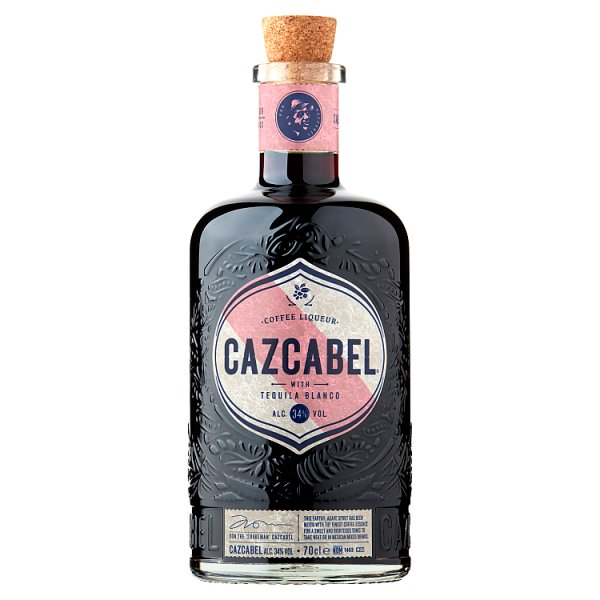 Cazcabel Coffee Liqueur with Tequila Blanco 70cl