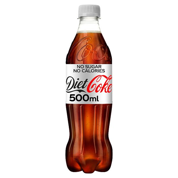 Diet Coke 500ml, Case of 24