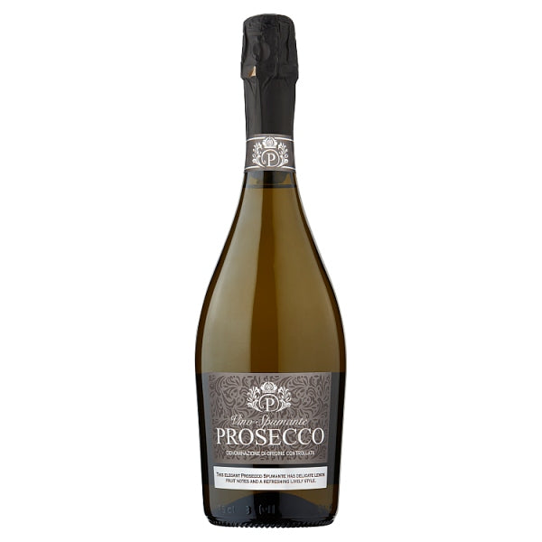Prosecco Vino Spumante 75cl, Case of 6