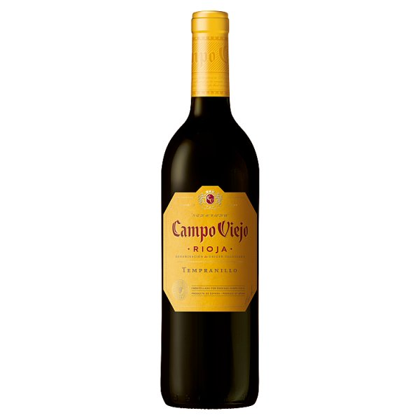 Campo Viejo Rioja Tempranillo Red Wine 75cl, Case of 6