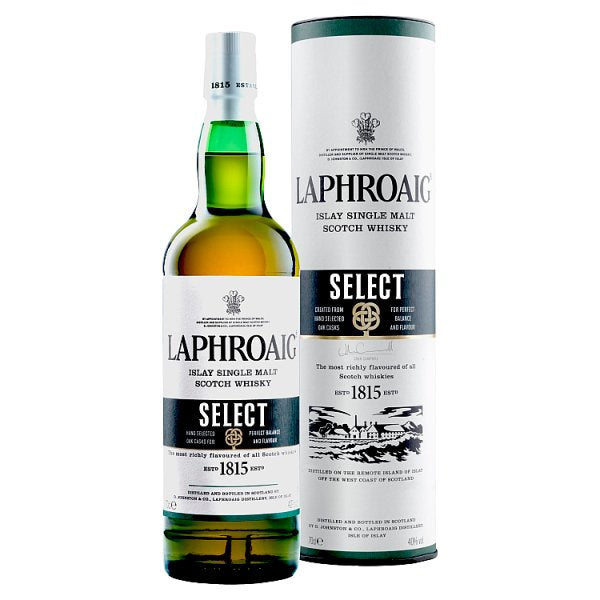 Laphroaig Islay Select Single Malt Whisky 70cl, Case of 6