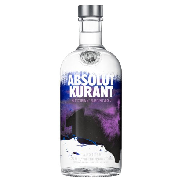 Absolut Kurant Flavoured Vodka 70cl, Case of 6