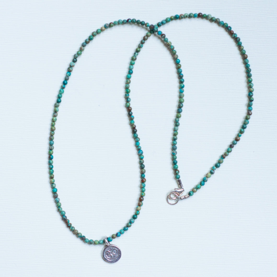 Om Turquoise Necklace