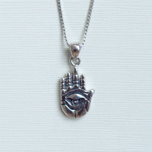 Hamsa With Eye Of Protection Necklace