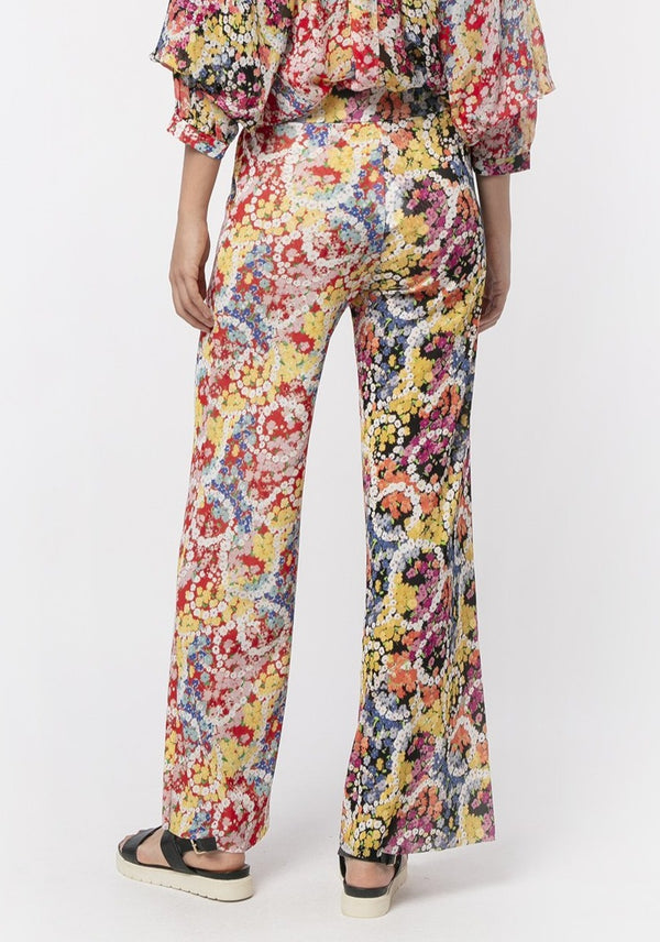 FLOWER POWER NETTING TROUSERS