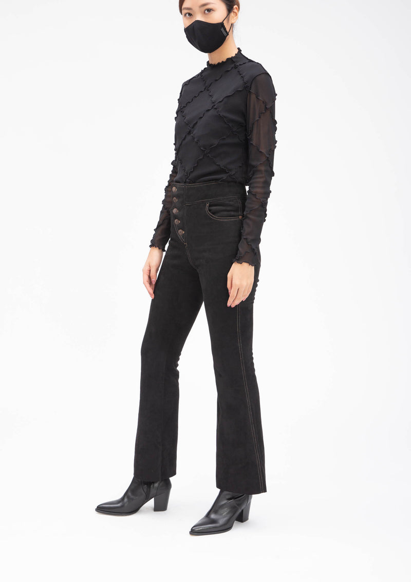 ** Selected Item ** ULTRA SUEDE FLARE PANTS