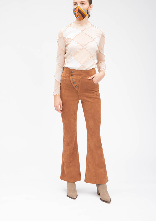 ULTRA SUEDE FLARE PANTS