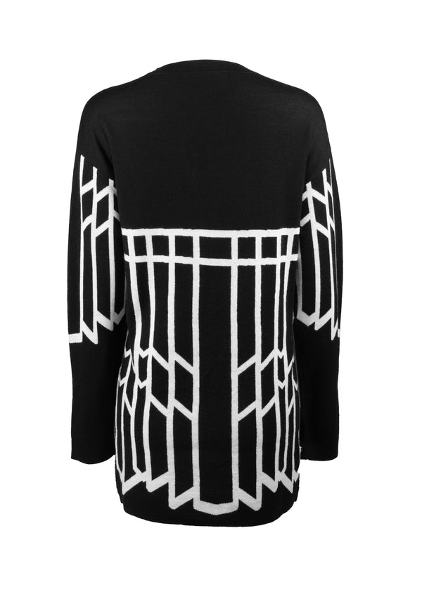 OPERA GIRL STUD WOOL TUNIC