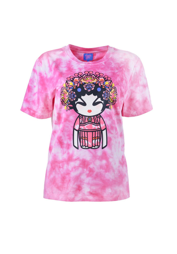 TIE DYE WITH OPERA GIRL T-SHIRT