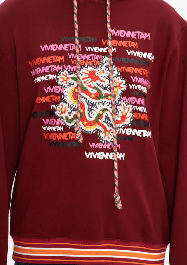 VT 3D DRAGON LASER CUT PULLOVER HOODIE