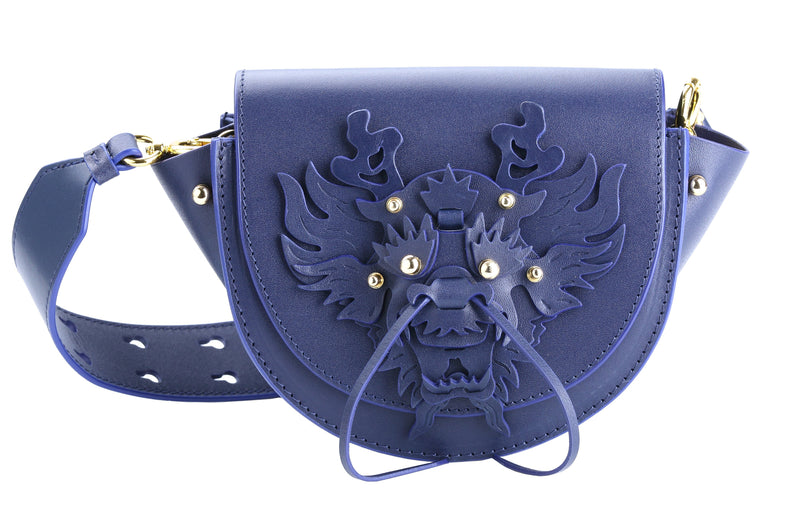 NAVY DRAGON BAG MINI