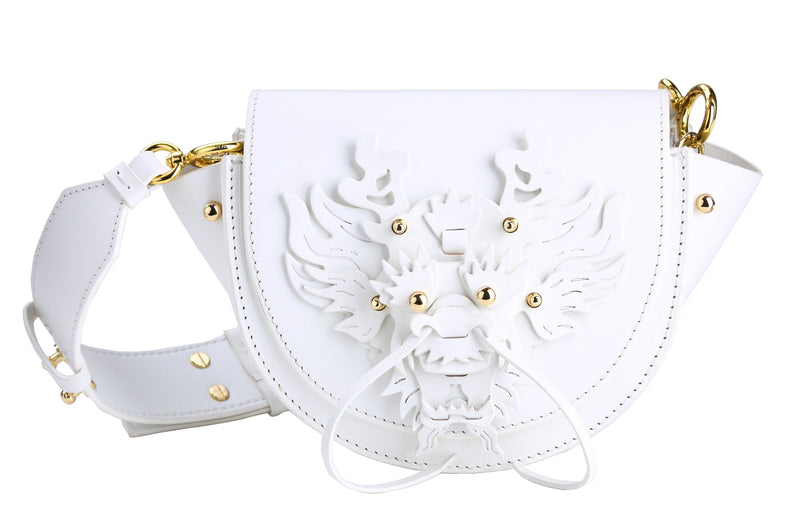 WHITE DRAGON BAG MINI