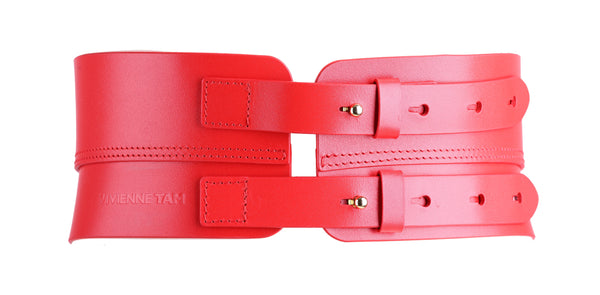 RED DRAGON HEAD WAIST BELT