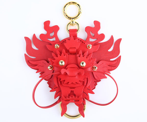 SMALL 3D DRAGON HEAD PENDANT