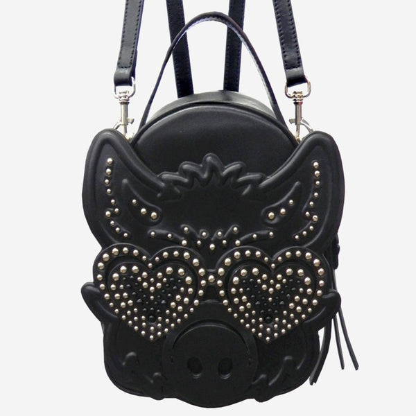 V V PIG LEATHER BAG