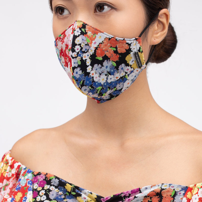 CIRCLE FLOWER REUSABLE PROTECTIVE FACE MASK