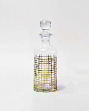 Retro Glass Decanter