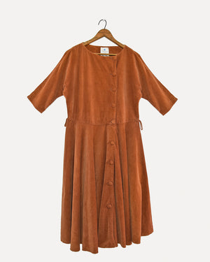 Vintage Corduroy Dress | 14