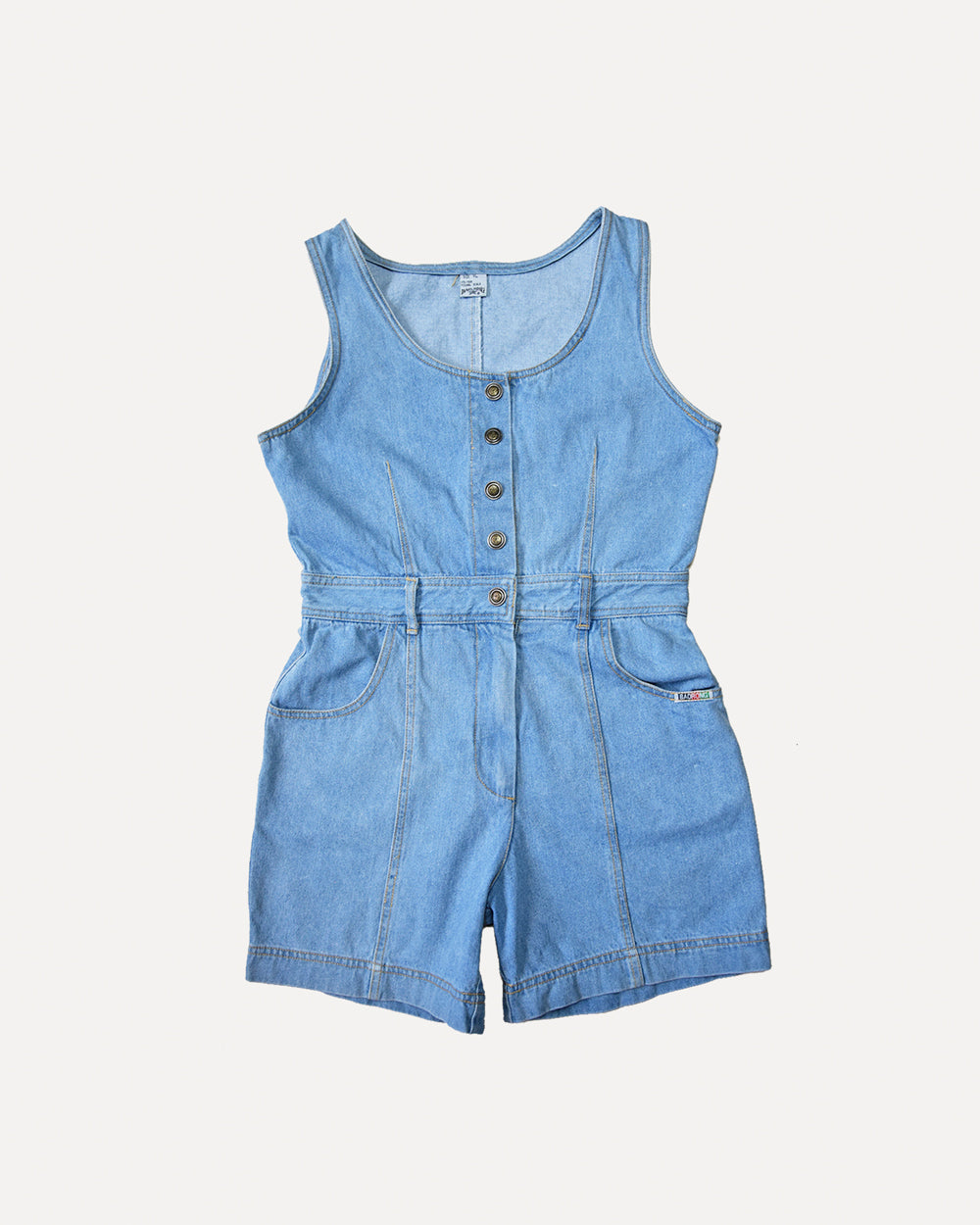 Retro Denim Jumpsuit | 10