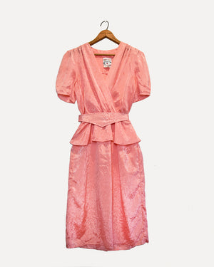 80's Pink Party Frock | 12
