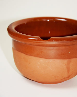 Semi Glazed Ceramic Pot