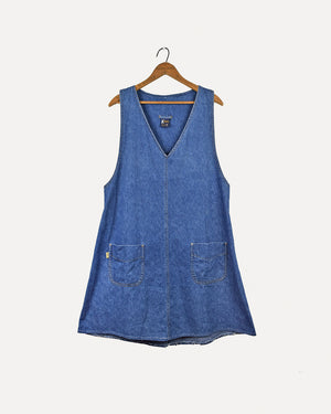Pepito Denim Pinafore | M
