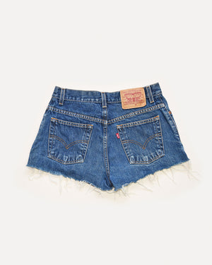 Levi Cut Off Denim Shorts | 10