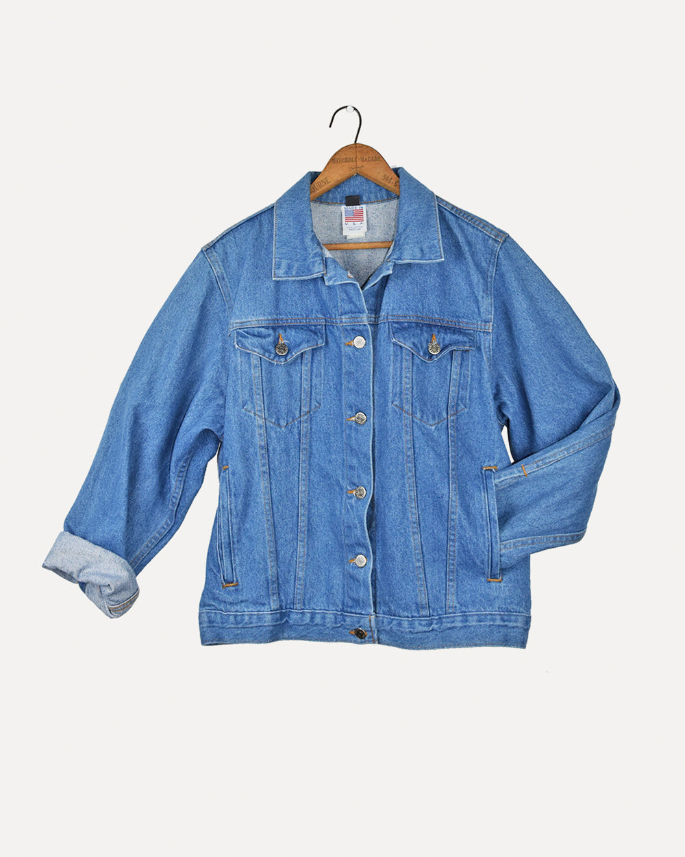 Tyca Embossed Denim Jacket | 10-12