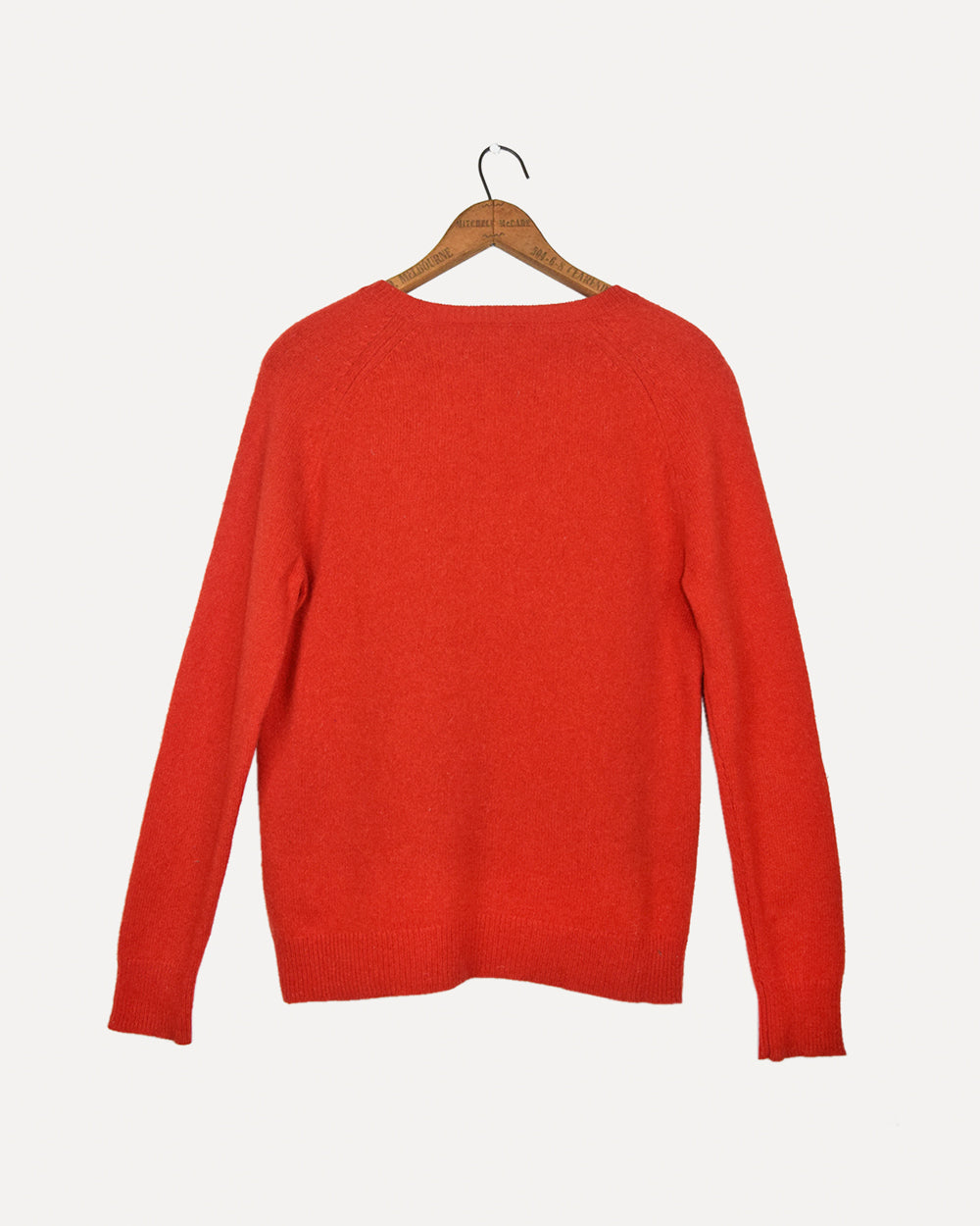 Red Wool Jumper | L
