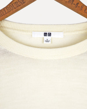 Cream Wool Jumper | 10-12